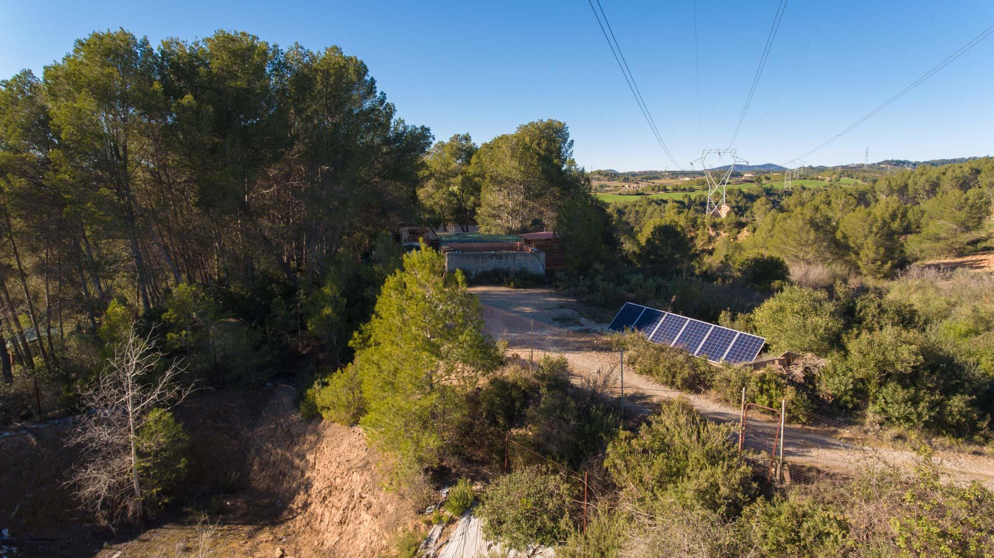 Instalación de energía solar fotovoltaica